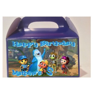 Qty 4 Beat Bugs, Birthday Goody Boxes, Celebration Personalization