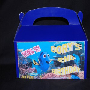 Qty 4 Finding Dory Candy Favor Goody Boxes