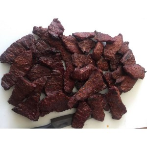 Garlic parmasean Smoked Beef Jerky 4 ounce portions